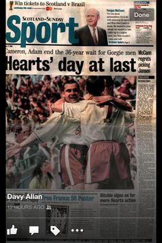 Hearts day at last