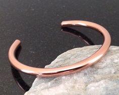 Copper Bracelet - BR012 Simple Bar Shiny Copper Bracelet by CopperMillDesigns on Etsy https://www.etsy.com/listing/239122425/copper-bracelet-br012-simple-bar-shiny
