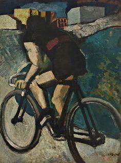 Mario Sironi, Il Ciclista (The Cyclist), 1916
