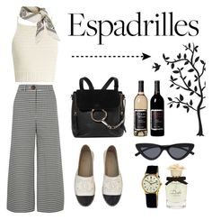 """""""Untitled #87"""" by kenza-sallemi on Polyvore featuring A.W.A.K.E., SHE MADE ME, Chloé, Godinger, Topshop, Chanel, Le Specs, Rolex and Dolce&Gabbana"""