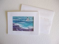 Art Gift Set ACEO Artist Trading Card by kathleendaughan on Etsy, $21.00
