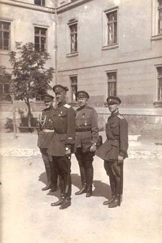 Gen. Wrangel - Sarajevo - 1925.