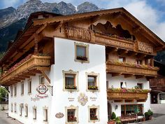 Located at the foot of the Schlick 2000 Ski Resort the Bruggerhof is a traditional Tyrolean guest house in Fulpmes in the Stubai Valley. Bruggerhof Fulpmes Austria R:Tyrol hotel Hotels Traditional, Ski, Mansions, House Styles, Hotels, Austria, Europe, Dinner, Dining