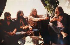 Led Zeppelin In Milan. 1971.