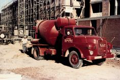 Diesel, Mixer Truck, Concrete Mixers, Austria, Antique Cars, Germany, Construction, Retro, Vehicles