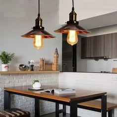 89.10$  Watch here - http://alisnc.shopchina.info/go.php?t=32797688124 - Loft Antique Iron Industrial Droplight RH Edison Vintage Pendant Lamp Fixtures Dining Room Hanging Light Indoor Lighting  #buyininternet