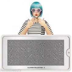 MoYou London Stamping Schablone *Illusion Collection 11* Buchstaben 3D Design XL | eBay