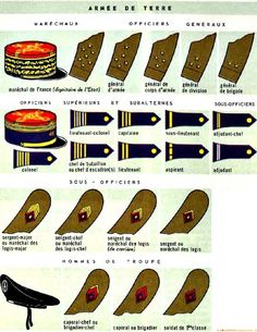 Military Insignia, Military Art, Military History, Michael Jennings, French Armed Forces, French Foreign Legion, French Army, Army & Navy, Badges