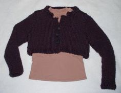 Cropped Cardigan - (c) Sarah E. White, licensed to About.com, Inc.