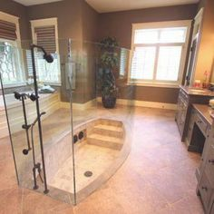 Master Bathroom traditional bathroom - Daily Home Decorations Dream Bathrooms, Dream Rooms, Beautiful Bathrooms, Master Bathrooms, Luxury Bathrooms, Master Baths, Contemporary Bathrooms, Contemporary Furniture, Luxury Furniture