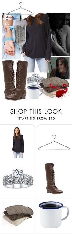 """The Walking Dead Daryl's wife getting sick"" by werewolf-gurl ❤ liked on Polyvore featuring 6397, PERIGOT, Wild Diva, Samantha Holmes and Brooklyn Slate Co."