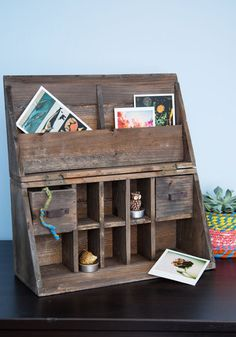 Wooden It Be Lovely Desk Organizer, #ModCloth