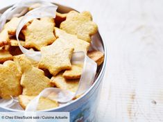 Quel dommage de devoir dévorer tous vos sablés de Noël d'un coup, alors que vous pourriez les conserver et faire durer le plaisir ! Découvrez nos conseils... Biscuits, Snack Recipes, Snacks, Cereal, Muffins, Chips, Breakfast, Durer, Desserts