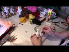 http://www.trolle-und-wolle.de Anleitung für eine stehende Regenbogenfee. Nach dem gleichen Prinzip können auch Blumenkinder und andere Figuren gefilzt werde...
