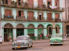 Outside the Capitolio building. Havana, Cuba.