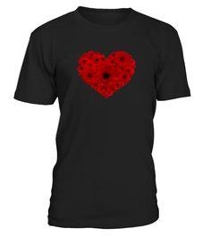 Heart  Flowers  #gift #idea #shirt #image #doglovershirt #lovemypet