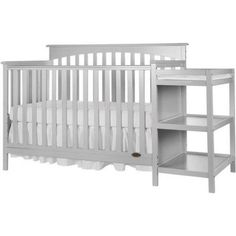 Dream On Me Chloe Dream On Me 5-in-1 Convertible Crib with Changer, Black - Walmart.com