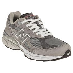 Sometimes you just can't beat the classic look of the Women's New Balance 990V3 sneakers.
