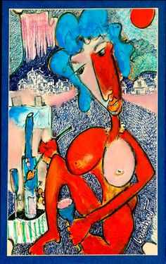 Art - Laurens Barnard (laubar) Art Forms, Art Decor, Pattern Design, Presents, Abstract, Canvas, Nudes, Painters, Drawings