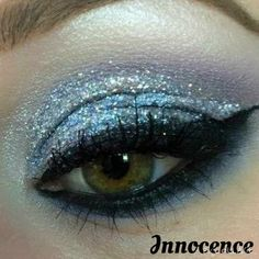 Innocence Glitter Loose Cosmetic Glitter Eyeshadow Eyeliner Nail Art... ($7) ❤ liked on Polyvore featuring beauty products, makeup, eye makeup, eyes, beauty and nail art makeup