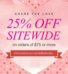 What a sweetheart of a deal!? PLUS FREE SHIPPING!!!  Only at: www.youravon.com/kelleybecker