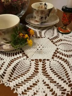 Check out this item in my Etsy shop https://www.etsy.com/listing/511212291/white-crochet-lace-doily-tabletopper
