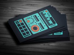 Music Producer Business Cards Best Of Amazing Dj Business Cards Psd Templates Design