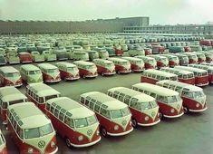 27 window Volkswagen Buses are worth about 75 to Volkswagen Transporter, Transporteur Volkswagen, Volkswagen Factory, T3 Vw, Vw Mk1, Volkswagen Models, Vw Camper Bus, Vw Caravan, Vw Bus T1