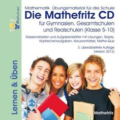 Die Mathefritz CD für Gymnasien, Gesamtschulen, Realschulen für die Klassen 5-10 (PC+MAC+Linux) Gymnasium, Operating System, Linux, Mac, Mental Calculation, Middle School, Mathematics, First Class, Learning