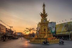 Clock Tower - Chiang Rai, Thailand