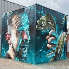 Nice piece by Smugone. Self portrait? Interesting concept and expression!