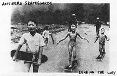 Anti-Hero Skateboard ads are outrageous