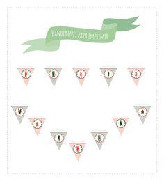 Banderines para descargar gratis e imprimir ideales para decorar fiestas castizas
