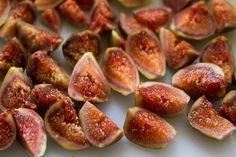 Fresh Figs with Pecan Cream Cheese Wrapped with Prosciutto.