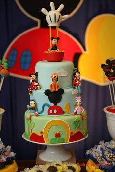 Ideias de festas do Mickey e sua turma