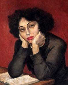 pintura de Lucile Blanch (1895-1981)
