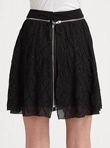 LOVE this skirt, but a little too much $$$ for me . . .. I can always still admire here on pinterest !! #fashionstar