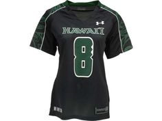Hawaii Warriors #8 Under Armour NCAA UA Womens Replica Football Jersey
