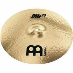 """Meinl Mb20 20 Inch Heavy Crash by Meinl Cymbals. $377.37. Meinl MB20 20"""" Heavy Crash. Save 45% Off! Percussion, Musical Instruments, Drums, Beats, Musicals, Weapon, Strength, Handgun, Music Instruments"""