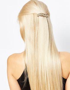 Orelia Leaf Hair Clip