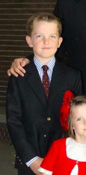 Pablo de Bourbon des Deux-Siciles, 11 ans, né en 2004, Fils de Pierre de Bourbon-Siciles (prétendant au trône des Deux-Siciles)
