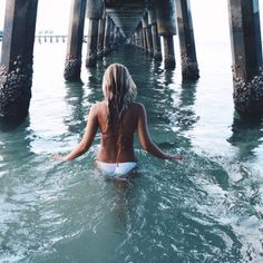 This under-the-pier shot is so lovely. I want to try it!