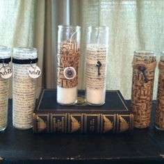 Craft class - prayer candles!