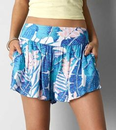 AEO Printed Soft Short - Buy One Get One 50% Off