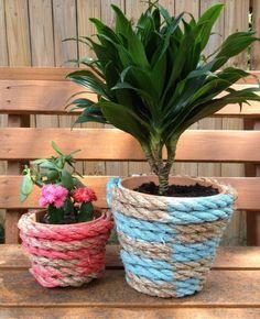 blumentöpfe-selber-machen - schöne dekoration für den zaun - 30, Garten und erstellen