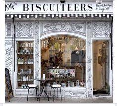 A cute custom cookie company in England.