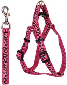 Pet Leash And Harness Adjustable For Small To Medium Dogs  Cats  Eliminates Pulling Pressure On Your Pets Neck Pink >>> You can get more details by clicking on the image.Note:It is affiliate link to Amazon.