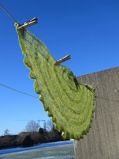 Critron Shawl - the crochet version of the famous knitted Citron!  Free Ravelry Download!