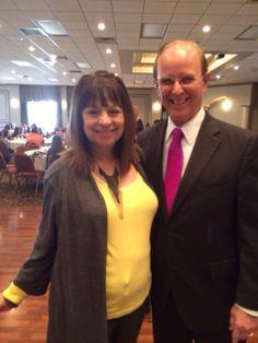 Lanie Karam with Judge Nelson Wolff