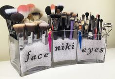 way to store your makeup brushes